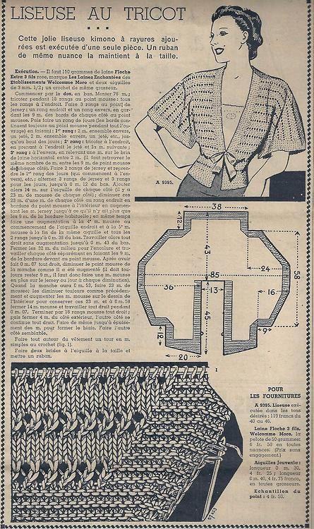 Le Petit Écho de la Mode - 12 septembre 1937 - bien jolie. http://isabellurette.tumblr.com/archive