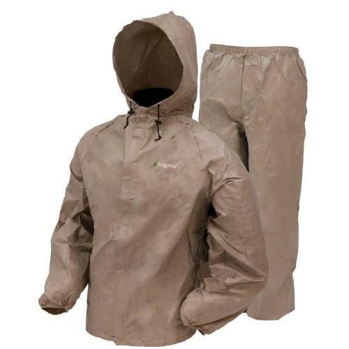 Frogg Toggs Ultra Lite Rain Suit Khaki XXL UL12104-04XX
