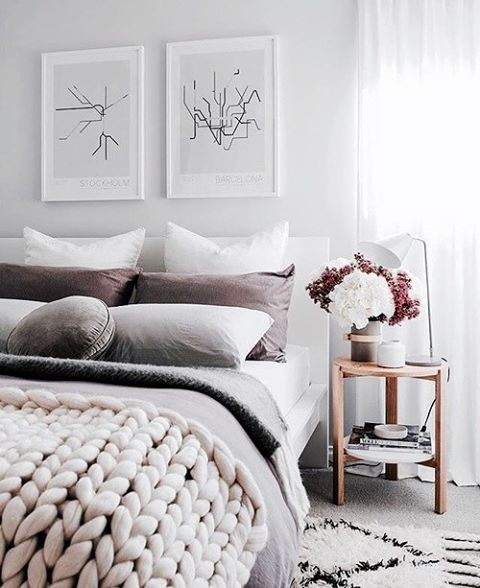Chunky knits and snuggly sheets FTW x #madisonsquareclothing #tuesday