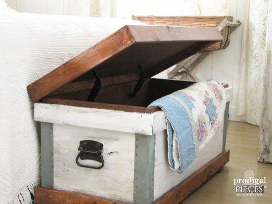 Josefa Trunk {Pottery Barn Knock-Off}   Prodigal Pieces