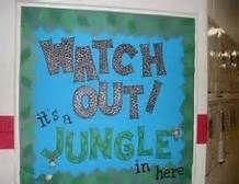 Jungle Theme Classroom Door - Bing Images