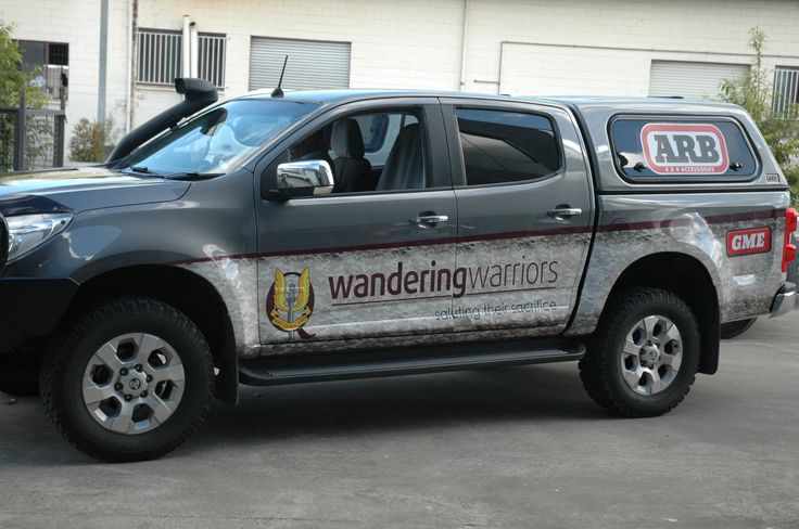Wandering Warriors Vehicle Wrap - designed by mi graphics