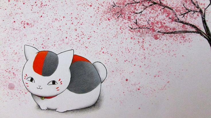 Speed Drawing Nyanko-sensei    Natsume Yuujinchou