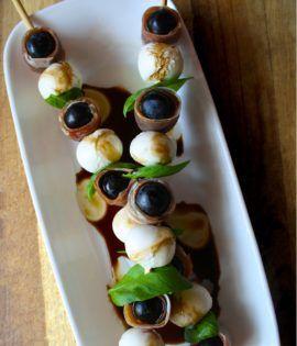 Need a fancy appetizer?! Black Grape Recipes - Sun World