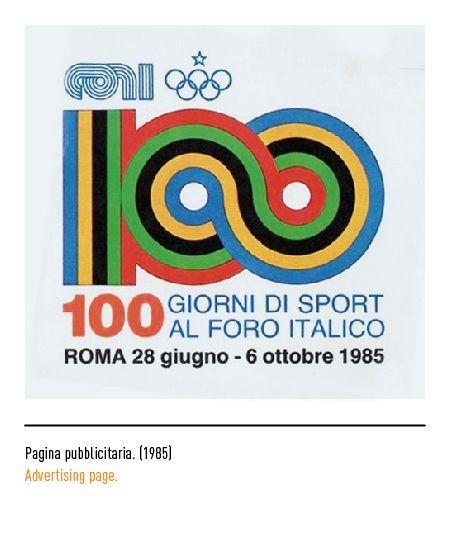 Marchio Coni - Pagina pubblicitaria 1985