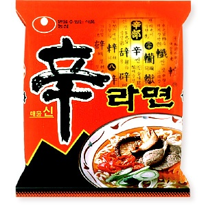 Shin Ramyeon. Breakfast of Champions.