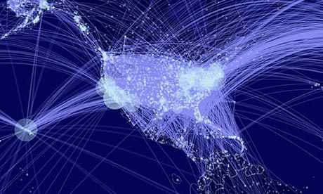 To fine-tune their new model, Gonzalez and her team analyzed cellphone data on top of passenger itineraries to determine real-world travel patterns, including layovers and re-routing.