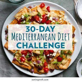 30-Day Mediterranean Diet Challenge | Mediterranean Eating