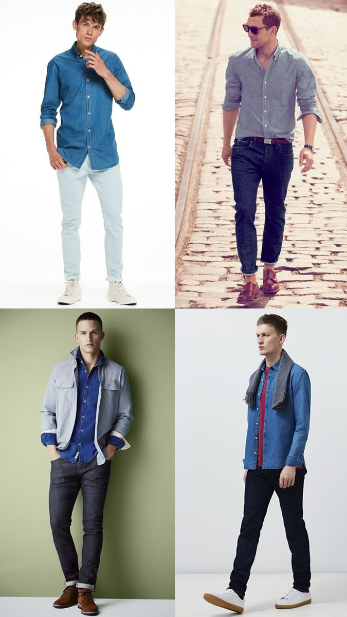 See 4 Combinations of Men's Clothing to Wear at Work