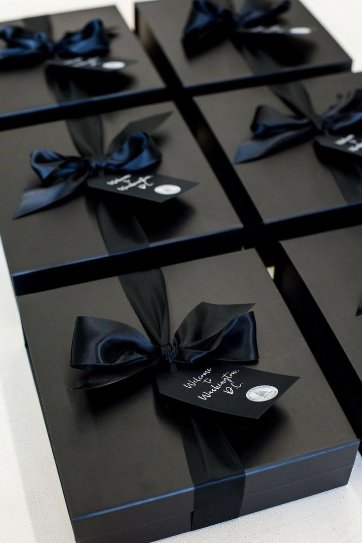 Best Corporate Gifts Ideas Corporate Event Gift Boxes Black And White Dc Themed Company Conference Welcom Giftsdetective Com Home Of Gifts Ideas In Gift Box Design Event Gifts Gifts