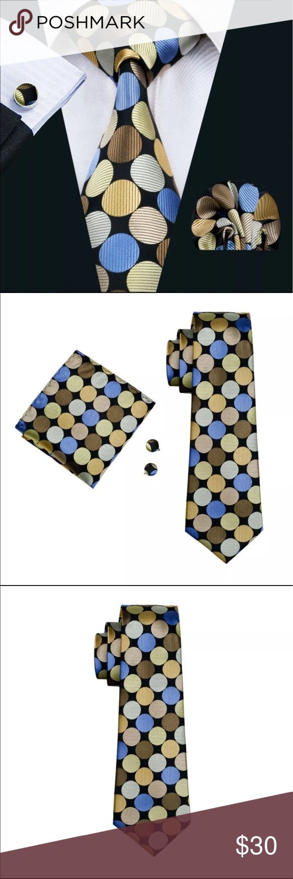 Men's 100% Silk High Quality Novelty Tie BUY NOW Gentleman's Shop Fashion Men`s Novelty 100% Silk Necktie Hanky Cufflink Set For Men`s Wedding Party Groom Business Queen Eather Etc Accessories Ties