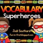 This interactive vocabulary packet will help increase vocabulary instruction in your classroom.  It includes level one and level two words, which a...