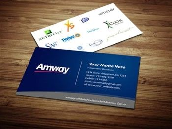 7 best images about Amway Business Cards on Pinterest