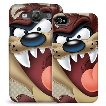 Exclusively ours, this Looney Tunes phone case features a colorful and detailed Tazmanian Devil and will protect your iPhone or Galaxy in style.