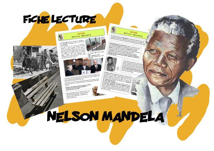 C3 : FICHE DE LECTURE sur NELSON MANDELA - Bout de gomme
