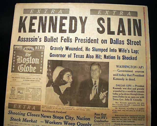 the presidency and assassination of us president john f kennedy in 1963 John fitzgerald kennedy was the 35th us president he took office on january 20, 1961, and was assassinated on november 22, 1963 every year around that time you hear a lot about his charisma, camelot, and conspiracies you'll also hear again about the tragic deaths of his son, wife, and brother .