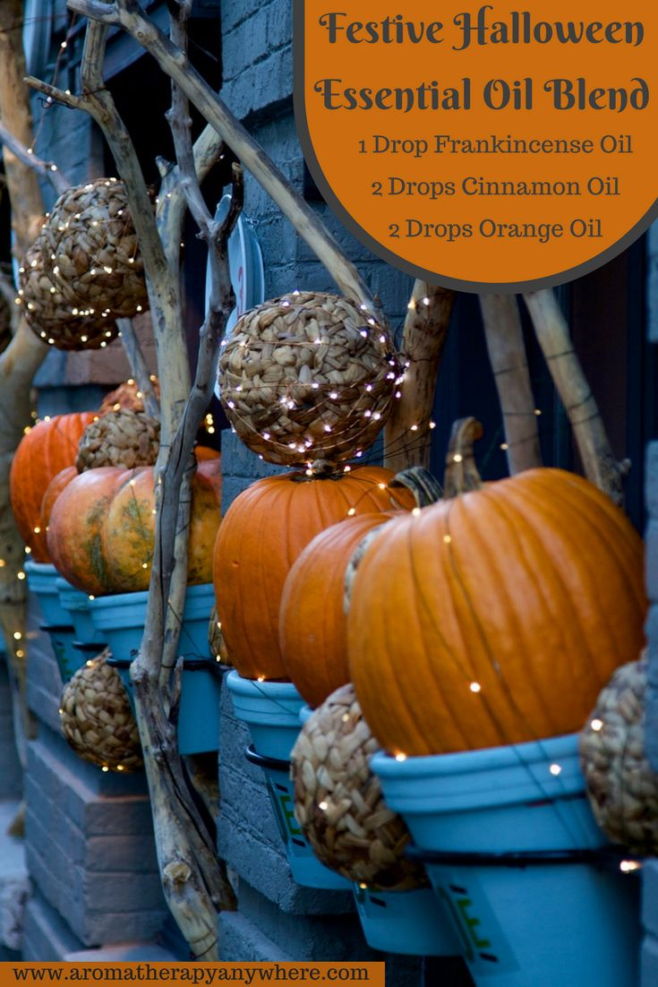 Festive Halloween Essential Oil Blend