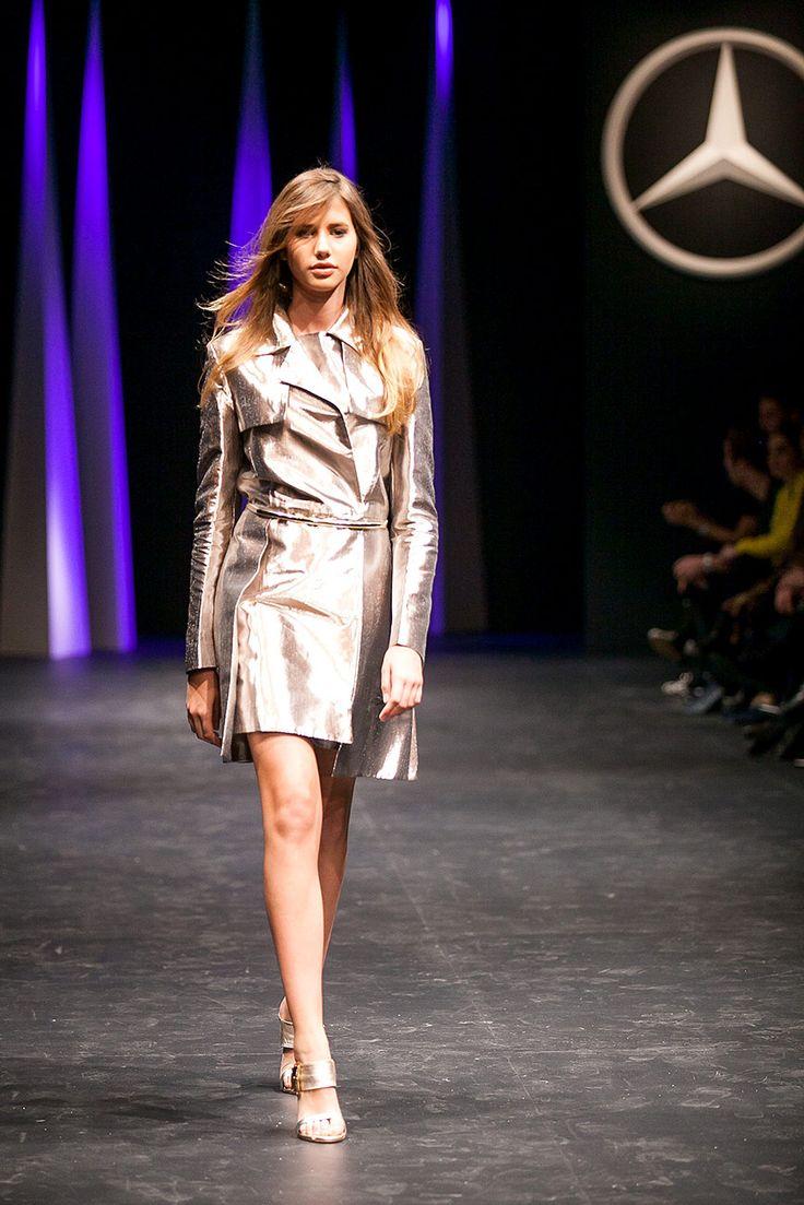 #mbfwchile2015 Lia Fernández runway Genny