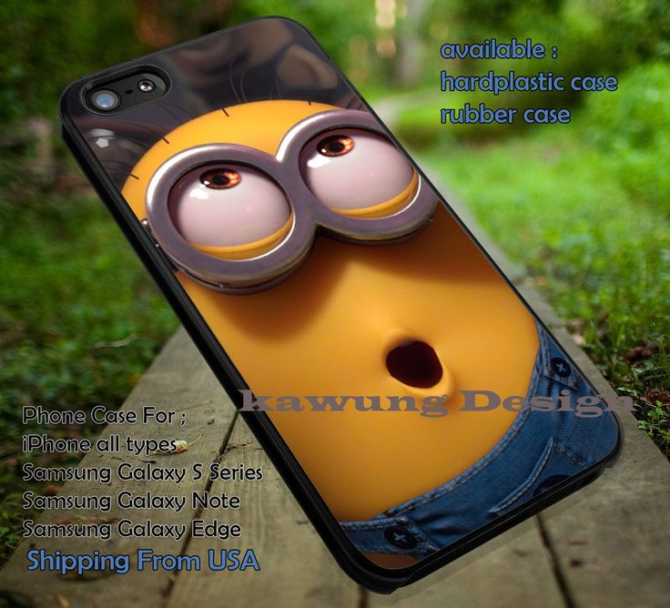 Minion Eyes Funny iPhone 6s 6 6s  5c 5s Cases Samsung Galaxy s5 s6 Edge  NOTE 5 4 3 #cartoon #animated #DespicableMe dt