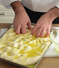 La focaccia salata secondo lo chef della Prova del cuoco - Donna Moderna RICETTE, DOLCI, TORTE, CUCINA, FRITTELLE, POLPETTE, RICETTE STEP BY STEP, LIBRI