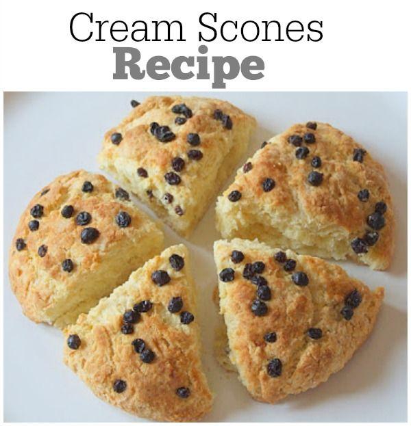 Cream Scones : delicious breakfast scones recipe!