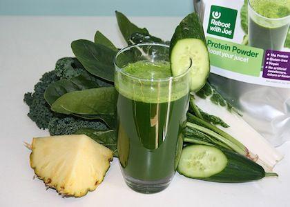 Green Protein Boost Juice | Reboot With Joe