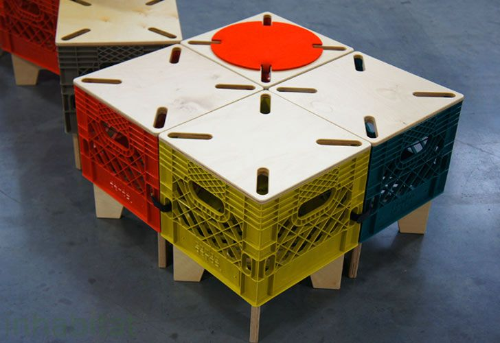 bing images of recycled milk crates | ... : The XTOOL By Combo Collab Re-Imagines the Milk Crate as Interc