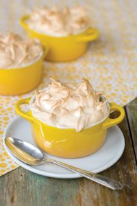 Individual Lemon Meringue Pies ~ maybe the  cutest thing to  ever exist #pies #cakes #sweets