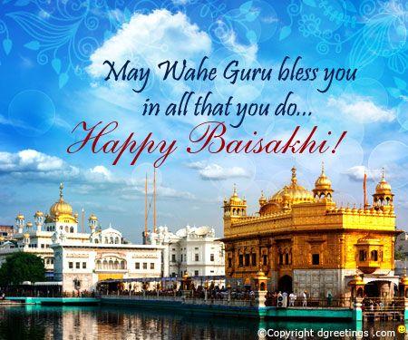 Embrace the blessings of Wahe Guru. Happy Baisakhi!