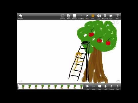 How to make an animation using Animation Creator HD - YouTube iPad art lesson