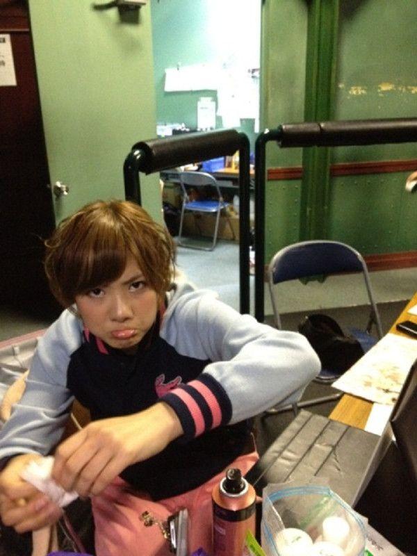 Sae's pouting face #AKB48