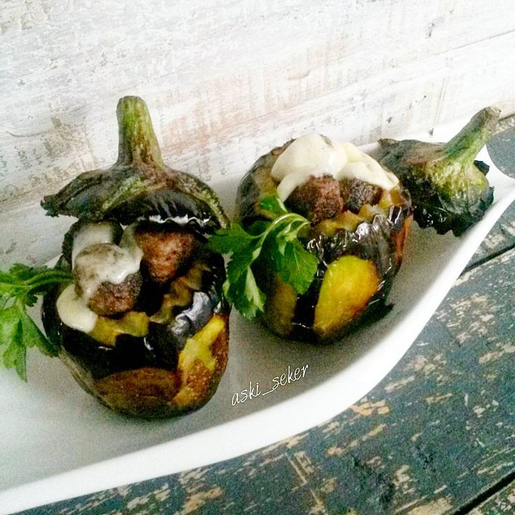 Köfteli Patlıcan Çanakları