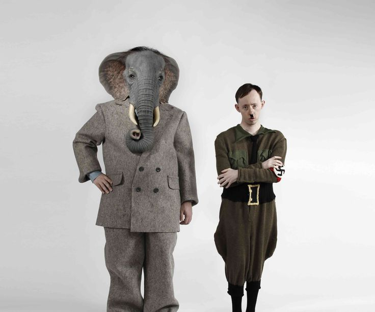 Back to Back Theatre's Ganesh Versus the Third Reich.  Compelling, controversial  theatre at its very best.