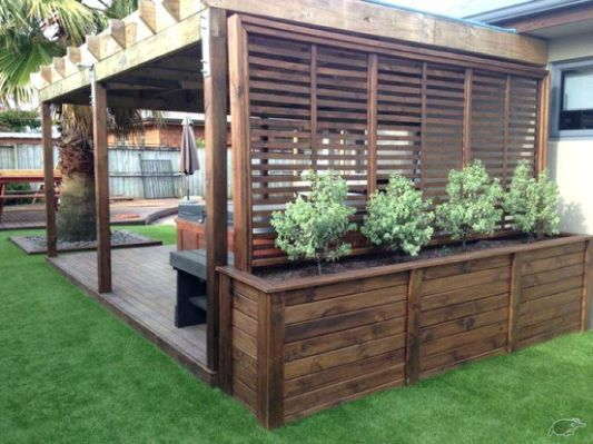 Hot Tub Privacy Screen Idea Seoandcompany Co Garden Projects In