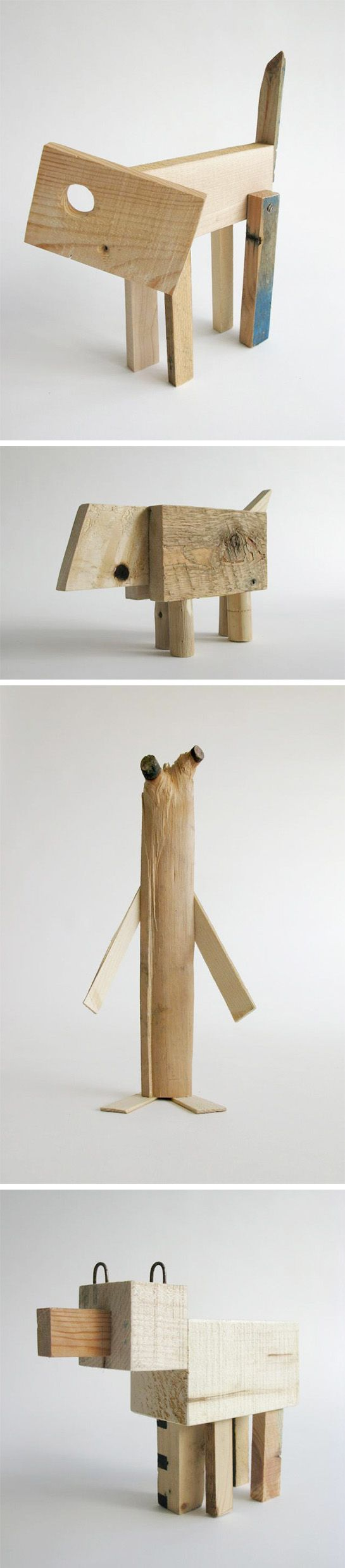 Studiomama -  Offcuts by Danish designer Nina Tolstrup (made from scraps destined for the dumpster)