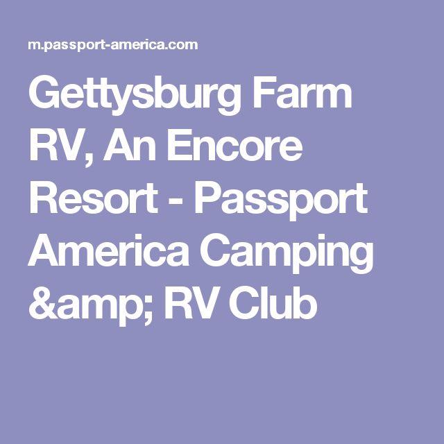 Gettysburg Farm RV, An Encore Resort  - Passport America Camping & RV Club