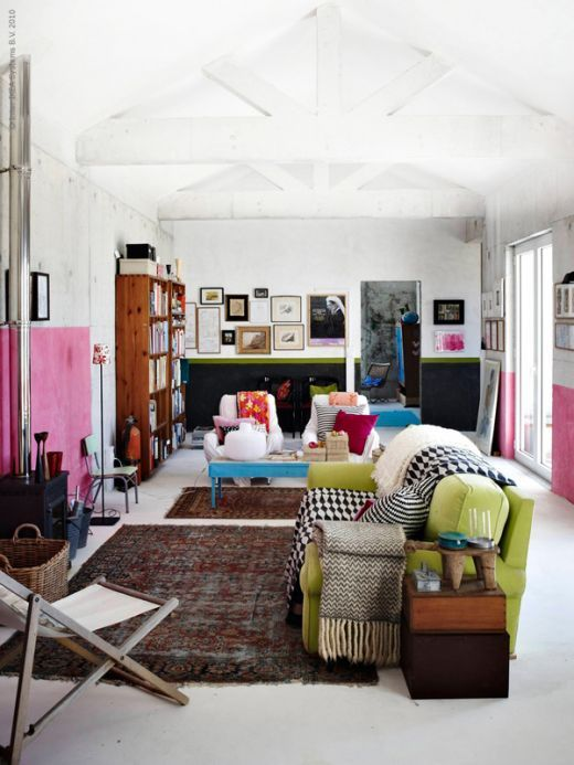 someday this will be my living room. the bedroom is for peaceful sleeping but the living room is for being wide AWAKE.