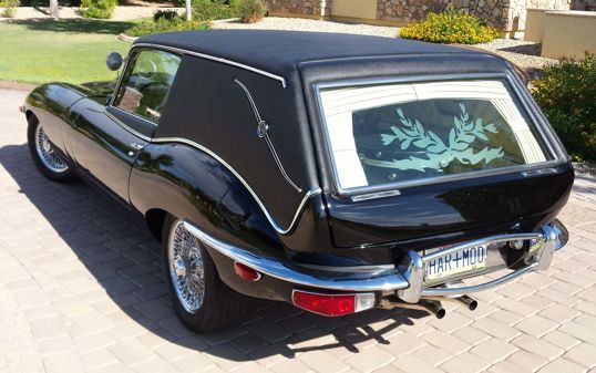 A Real Jaguar Hearse Inspired by 'Harold and Maude'