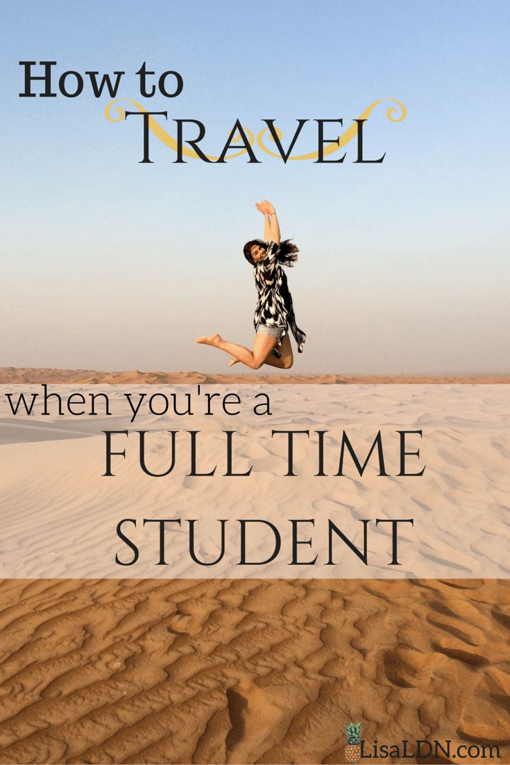 There's no reason exams and lectures should keep you from exploring the world.  Throughout my years of studying I've visited over 20 countries - and I've written this guide on how you can do the same!