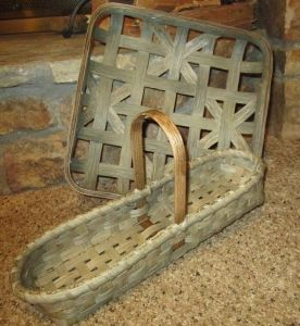 Tobacco/Centerpiece.Basket #Basket #Beautiful basket #Basket photo
