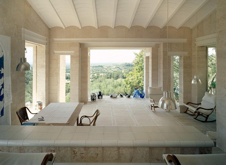 LOVE SPAIN - Mallorca: Jørn Utzon - Can Lis, the architect's...