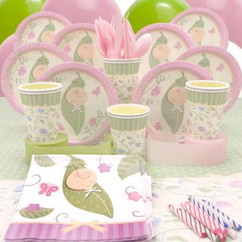 baby shower ideas for girls | Pink Pea in a Pod Baby Shower Ideas for Sweet Little Girl | Oh Baby!