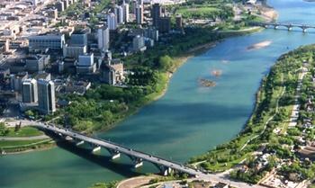 SASKATOON, SASKATCHEWAN - the cities of bridges - lived here until I was 18; skating outside the Bez, Folkfest; the pretty campus of the University of Saskatchewan