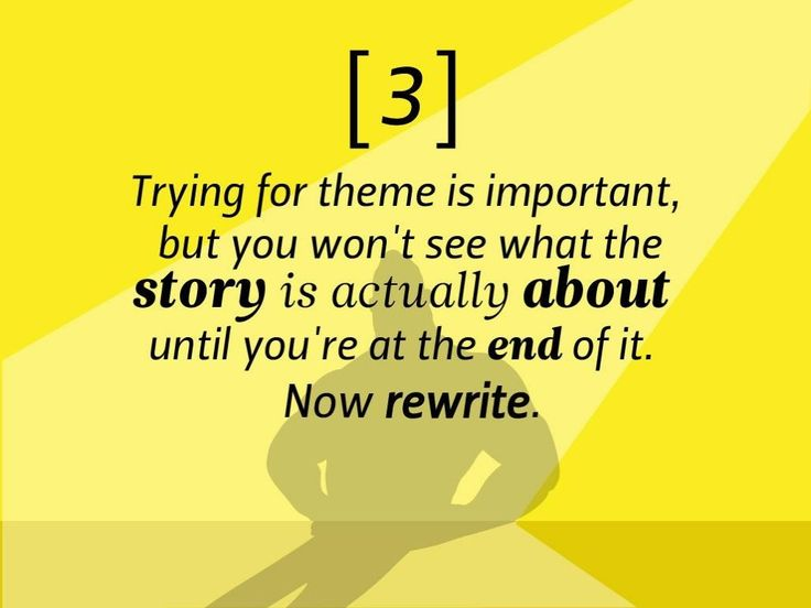 How to write a great story - Imgur