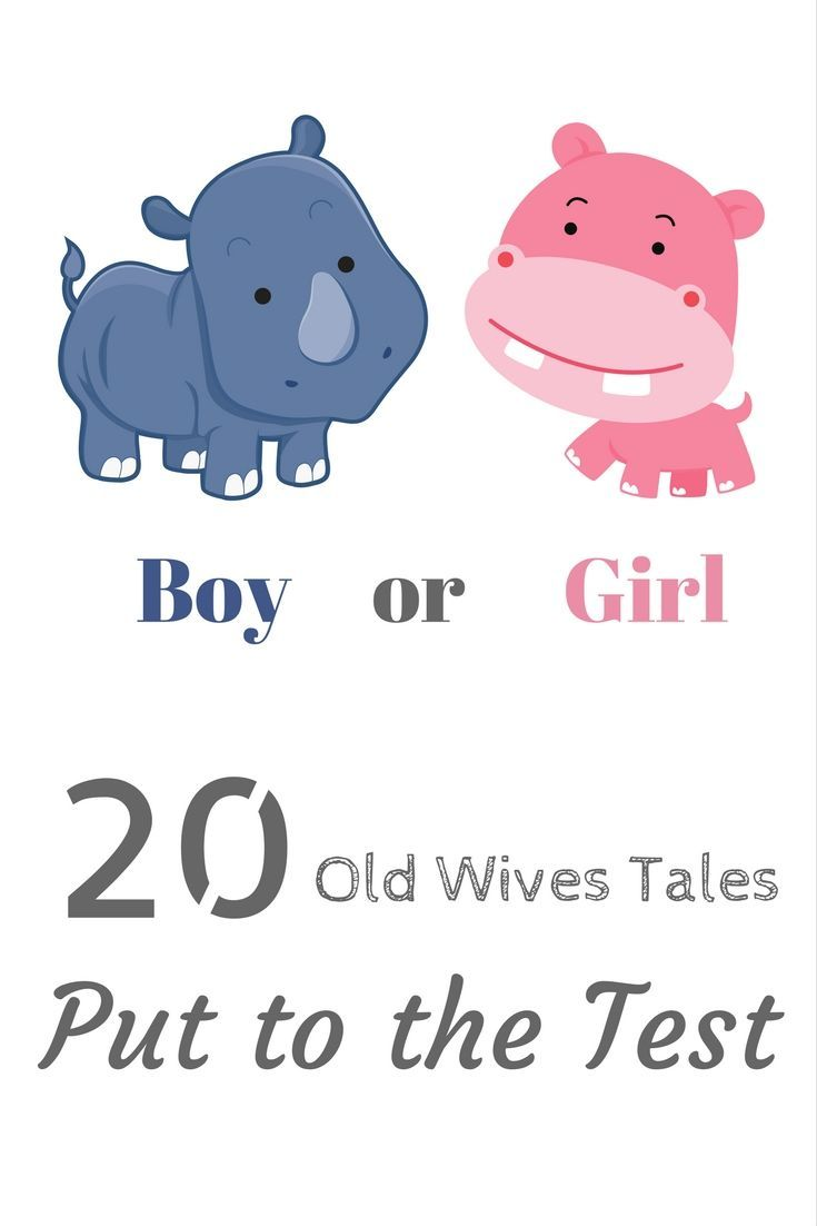 Are all of those old wives tales and baby gender predictors really true?  I'm putting 20 of them to the test here.  Let's see what they have to say!