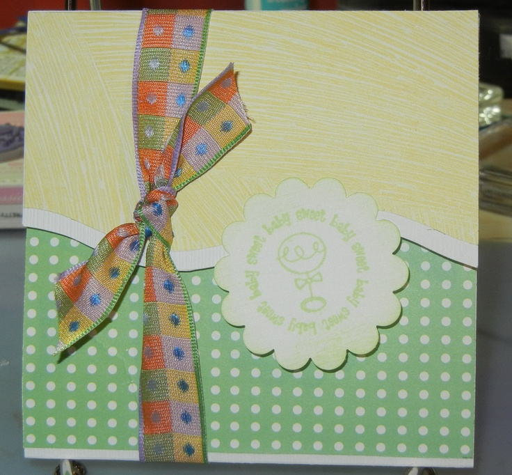Baby Gift Card Holder My Cards Pinterest Cards Scrap And Craft