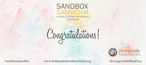 Invitation to GOHFS by Deshpande Foundation for the Sandbox Samvidha