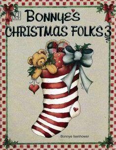 Bonnye's Christmas Folks 3 (free online patterns & instructions)