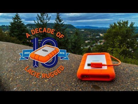 """LaCie Rugged Thunderbolt 1 To - Disque dur externe 2,5"""" Thunderbolt/USB 3.0 - Disque dur externe LaCie - MacWay"""