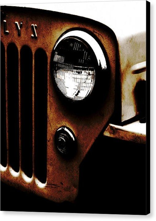 """Thanks to the buyer of a 16"""" x 20"""" Willys Jeep CJ3B canvas print on 1/29/17! Really appreciate it... Please enjoy :) More Jeep art & Jeep photography for sale on Luke Moore's Pixels page.   #willysjeep"""